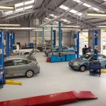 What to see in a car workshop